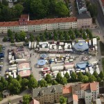 Nordhausen/ August-Bebel-Platz/ Rummel