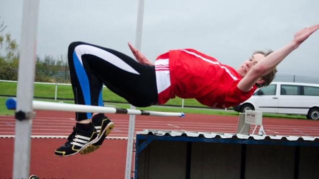 Bahneröffnung für Leichtathletik